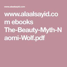 The Beauty Myth Naomi Wolf Ebook