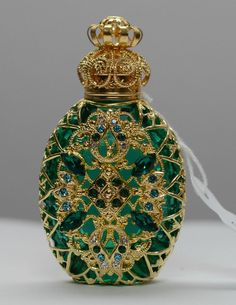 Vintage Style Collectable Filigree Perfume