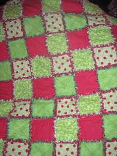 - Rag QuiltsFeatured on this page is my rag quilts and rag ...