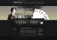 Online Casino Website Template | Gaming mailers | Pinterest ...