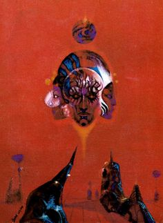 richard powers cover for First Contact (edited by Damon Knight) 1971 Zine, Cover Art, Sci Fi Kunst, Science Fiction Kunst, Sci Fi Wallpaper, Richard Powers, Arte Sci Fi, 70s Sci Fi Art, Beautiful Fantasy Art