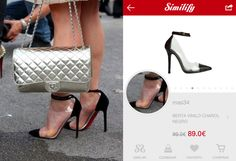 Con la ayuda de Similify App, en cuestión de segundos, hemos encontrado el CLON CHEAP&CHIC de los BIS UN BOUT de Louboutin!! #elCLONcazado #clonazo #clon #christianlouboutin #louboutin #stilettos #heels #pumps #shoes #pvc #blacksuede #similify #smartvisualshopper #visualshopping #thenewshoppingexperience #fashionsearch #visualsearch #fashiontech #freeapp #ios #android