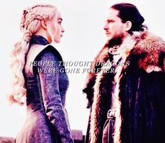 And yet here they are..together.. Jon & Daenerys