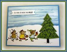 Image result for Merry mice stampin up ideas