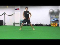 88.【筋トレ】1分間〜ながらトレーニング -Side lunge sweep-