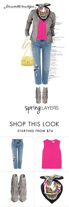 """""""Spring"""" by shica-du ❤ liked on Polyvore featuring мода, Levi's, Victoria, Victoria Beckham, Promod, Sam Edelman, Chanel, Spring, springfashion и spring2016"""