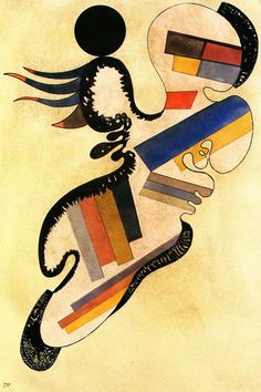 Wassily Kandinsky The Athenaeum - Solitaire 54 Wassily Kandinsky, Klimt, Abstract Words, Abstract Art, Abstract Landscape, Modern Art, Contemporary Art, Art Graphique, Cubism