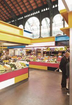 Proyecto de Remodelación del Mercado Municipal de Atarazanas,Cortesía de…