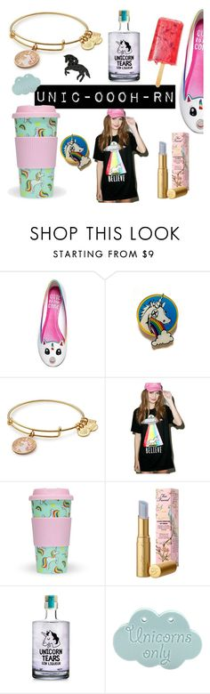 """""""unic-oooh-rn!"""" by francescacalabrese on Polyvore featuring moda, Cute To the Core, Goodie Two Sleeves, Too Faced Cosmetics, Group, polyvorecommunity, unicorn, polyvorecontest e polyvoreset"""
