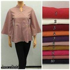 Blouse katun ima polos size m_xl.. #blouse #katunima #blousekatunpolos #blousekatunima #katunima #size_m_xl #limited_editions