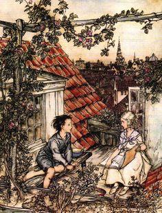 "Arthur Rackham «Tales» | ""Pictures and talk"""