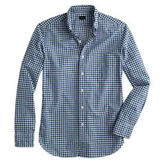 Tall Secret Wash shirt in small check