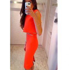 Victoria Beckham Cutout Dress