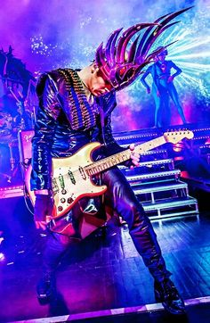 Empire of the Sun - Luke Steele. EOTS is so underrated. Love them.