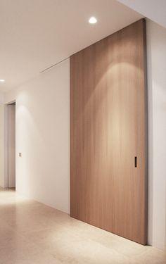 • Flat Interior, Interior Windows, Home Interior Design, Door Dividers, Room Divider Doors, Sliding Door Design, Sliding Wall, Internal Sliding Doors, Arched Doors