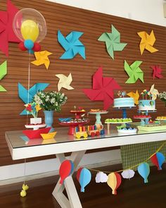 Sunshine Birthday Parties, Baby Shower Themes Neutral, Mickey Mouse Clubhouse Birthday Party, Dream Baby, Pencil And Paper, Baby Party, Paper Toys, Birthday Party Decorations, 4th Birthday