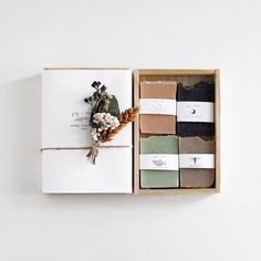 FIG & MOSS SOAP SAMPLER GIFT SET