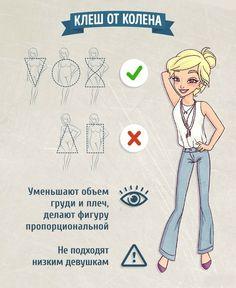 Как выбрать джинсы для своего типа фигуры: гид по фасонам 9