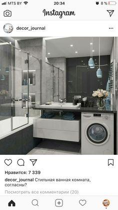 Ideas Bathroom Storage Shower Mirror For 2019 Ada Bathroom, Narrow Bathroom, Laundry In Bathroom, Bathroom Layout, Bathroom Storage, Bathroom Interior, Modern Bathroom, Laundry Room Design, Bathroom Design Small