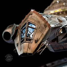 The best ship in the 'verse now gets the best replica with the Firefly Serenity Film-Scale Artisan Replica, which is so awesome that it will probably have you Star Trek Enterprise, Star Trek Voyager, Blockbuster Movies, Long Shot, Firefly Serenity, Stargate Atlantis, Joss Whedon, Battlestar Galactica, Sci Fi Fantasy