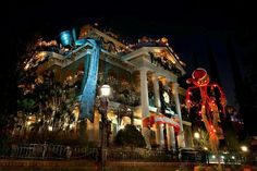 Haunted Mansion-Nightmare before Christmas
