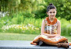 "Danielle G - Anzhelika Crochet ""Tribe Dress"" Photography by NORPhotos MUA Natasha Kumar"