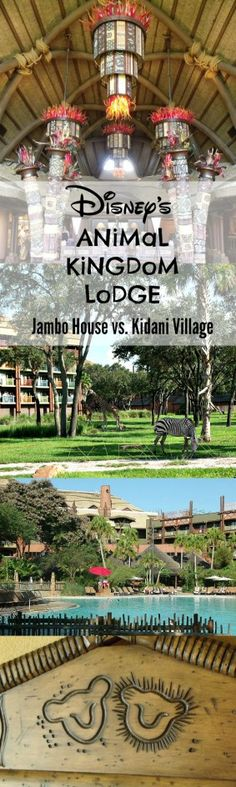 Thorough review of Animal Kingdom Lodge at Disney World, comparing Jambo House vs. Kidani Village