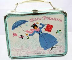 1965 Mary Poppins Metal Lunchbox by cebcollectibles