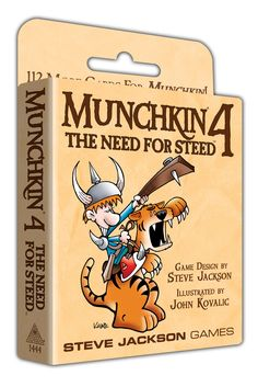 Munchkin® 4 – The Need for Steed™