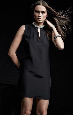 Amanda Uprichard jewel-neck dress