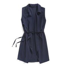 Stitch Fix Summer Styles: Indigo Duster Vest