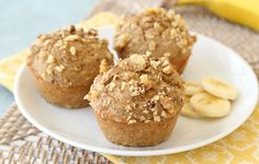 Banana Nut Job! (Muffin Recipe) Hungry Girl 6-10-14