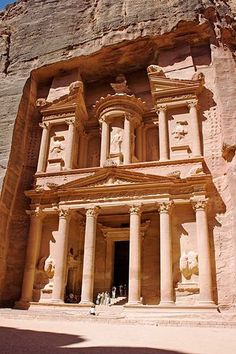 Petra is a historical and archaeological city in the southern Jordanian governorate of Ma'an, that is famous for its rock-cut architecture and water conduit system. #Ancient #Architecture