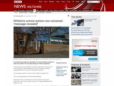 Wiltshire school autism row voicemail 'message revealed'