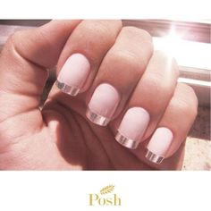 Nails by Posh by Feryal Dubai at Burj Al Arab!