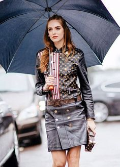 Rain game: eleventh look of PFW FW16 | The Blonde Salad | March 9, 2015 #LouisVuitton