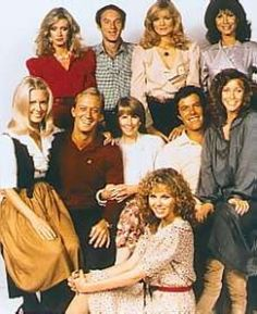 Knots Landing - Thursday nights, living in Morristown with my 2 other roommates.  Pizza and a bottle of Mouton Cadet.  Never missed an episode!  the three of use would be rivited to the TV!  Met Michelle Lee a couple of years ago.... she is still as beautiful as ever and charming beyond!