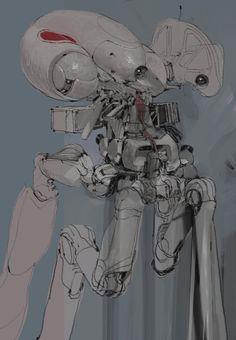 Colormech4, Vaughan Ling on ArtStation at https://www.artstation.com/artwork/colormech4