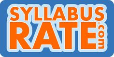 http://www.syllabusrate.com/ - Professors   www.syllabusrate.com provides college and university students with real course syllabi, so that students know everything about a class before regsitering for it!