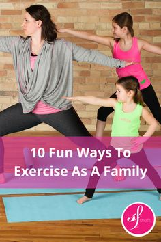 Shefit High Impact Sports Bra shares super fun exercises you can do with your kids. CLICK HERE to read the full article http://shefit.com/blog/high-impact-sports-bra-expert-reveals-10-fun-ways-to-exercise-as-a-family/
