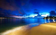 Free Desktop Wallpapers   Free Saint Jean de Luz Beach, computer desktop wallpapers, pictures ...