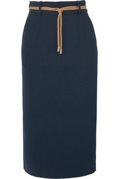 Roksanda | Harta cord-trimmed crepe pencil skirt | NET-A-PORTER.COM