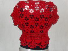 Toda Moderna: Lindo Bolero de Crochê - Gráfico