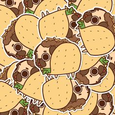 Puglie Pug — Have some pizza mind that these Puglie stickers...