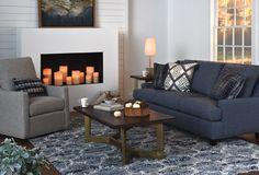Decoration Christmas, Lounge Ideas, Sofa, Couch, Ideas Para, Sweet Home, Diy, Decor Ideas, Living Room