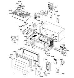 W10275736 53001026 59001168 Maytag Microwave Transformer