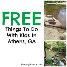 Free Things To Do With Kids in Athens, GA