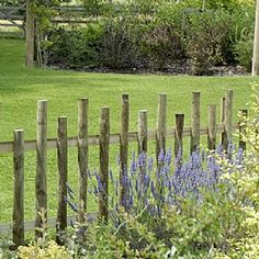 colonial williamsburg gates and fences | Rustic Garden Fence