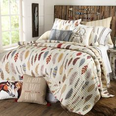 Be+Bold,+Be+Brave+Quilted+Bedding+Collection