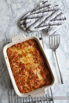 Due bionde in cucina: Lasagne verdi con ragù di lenticchie